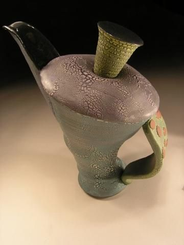 Kirk Belding Pottery - yet another interesting tea pot and I don't even like hot tea....