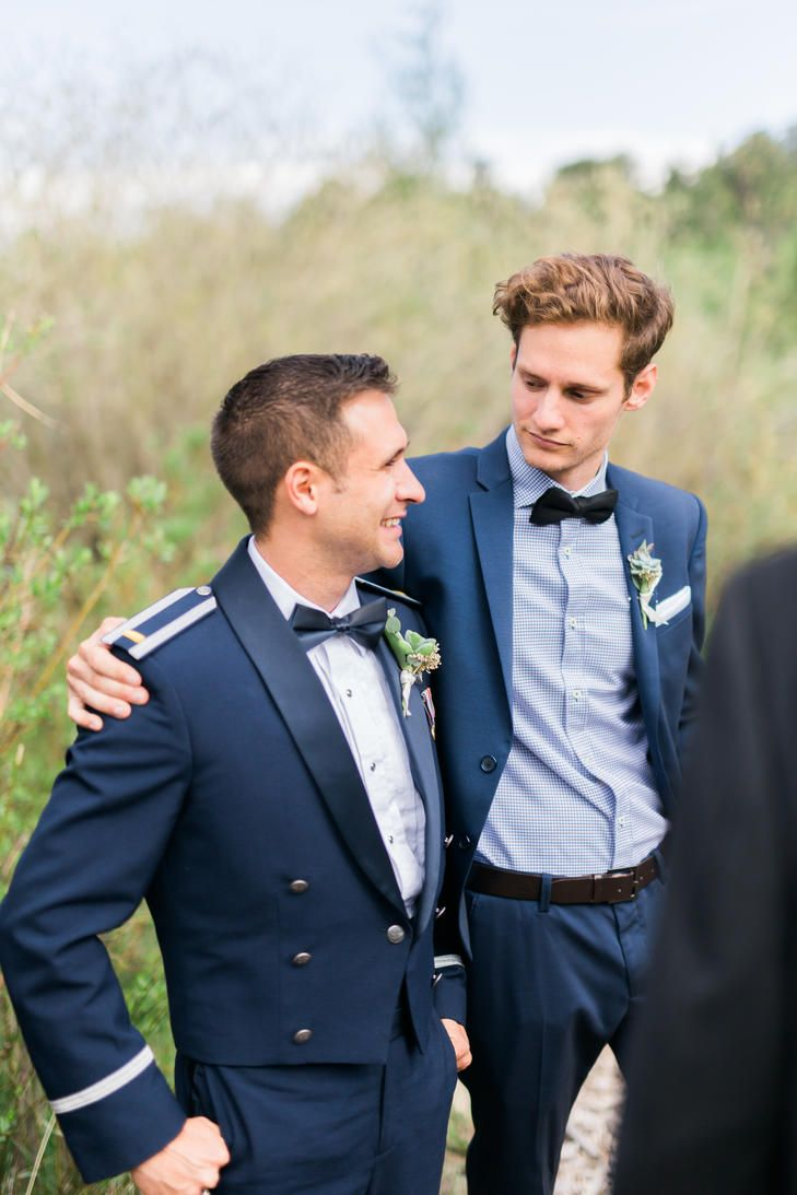 Navy Blue Groomsmen Style | Meigan Canfield Photography