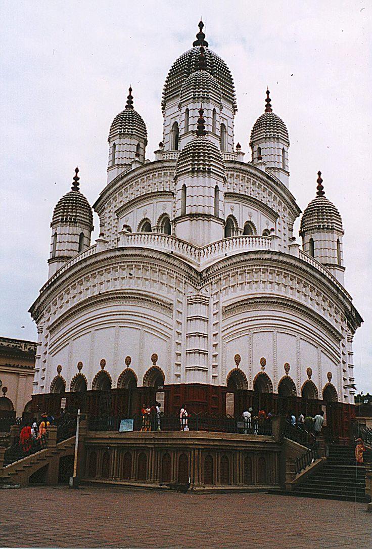 Dakshineswar Kali Mandir, (Hindu Temple) Kolkata (Calcutta), West Bengal (India) - home to Bhavatarini Maa.