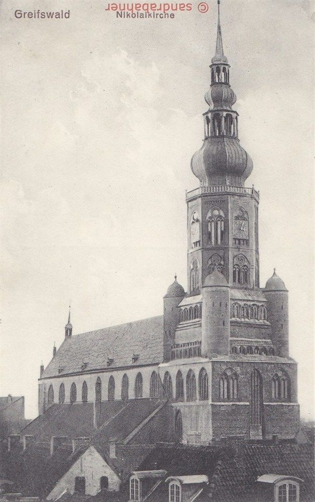 AK Greifswald. Nikolaikirche, 1915   eBay