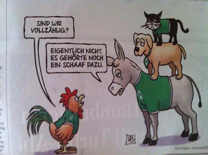 Werder Bremen Lustig
