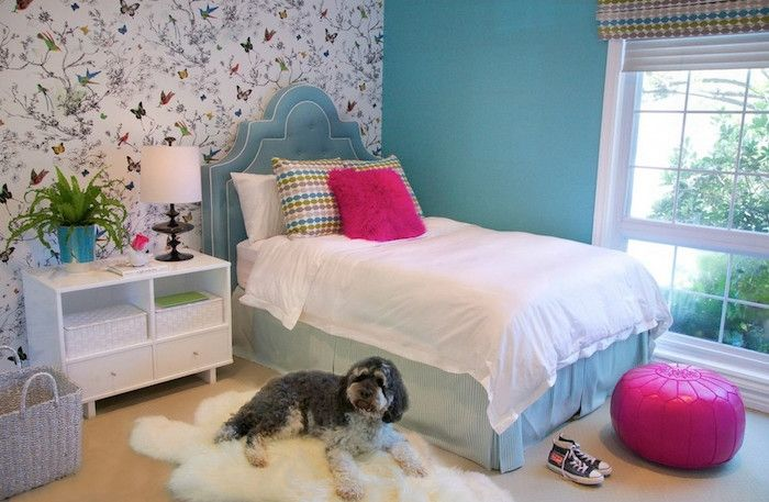 1001 Ideen Fur Jugendzimmer Madchen Einrichtung Und Deko Schlafzimmer Design Blaues Schlafzimmer Teenager Madchen Schlafzimmer
