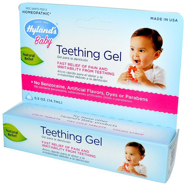 Hello Charlie - Hyland's Baby Teething Gel , $16.95 (http://www.hellocharlie.com.au/hylands-baby-teething-gel/)