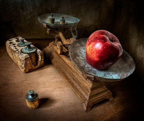 Weight of Sin by Antonio Diaz on 1x.com - incredible still life photography #HDRphotography