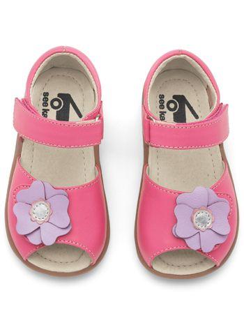 See Kai Run Kiyomi Hot Pink available at www.tinysoles.com! #TinySoles