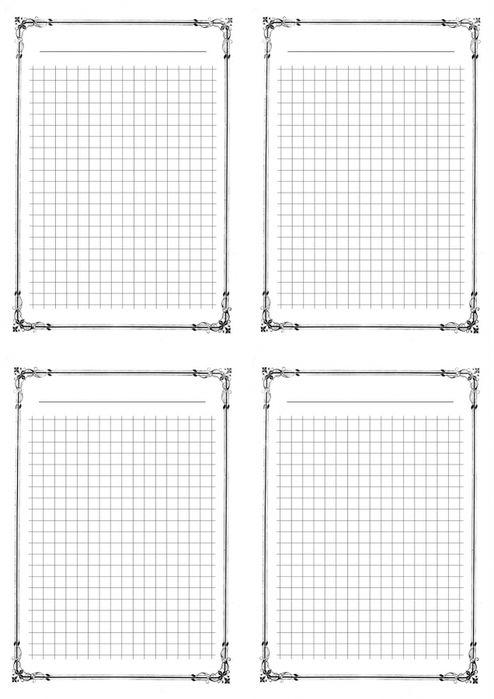 винтажные страницы для блокнота в клетку - Поиск в Google