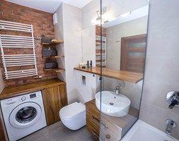 #BJN - Średnia łazienka, styl rustykalny - zdjęcie od Och-Ach_Concept