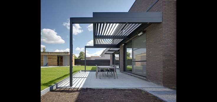 Umbris | Extended Leg Supported Patio Roof | IQ Glass