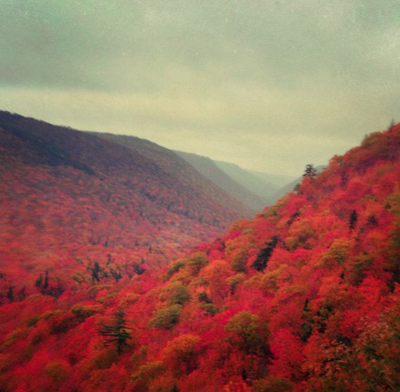 Autumn in Cape Breton Island, Nova Scotia