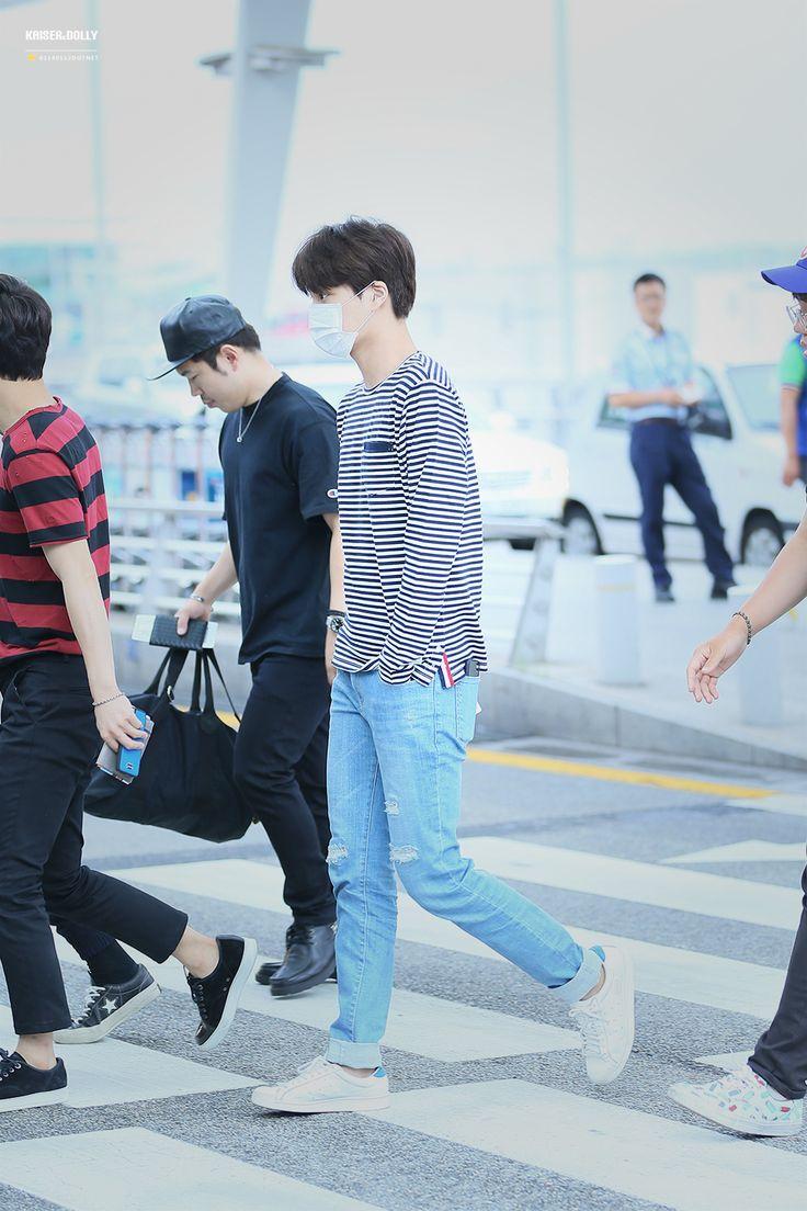 150724: EXO Kai (Kim Jongin); Incheon Airport to Kansai Airport #exok #fashion…