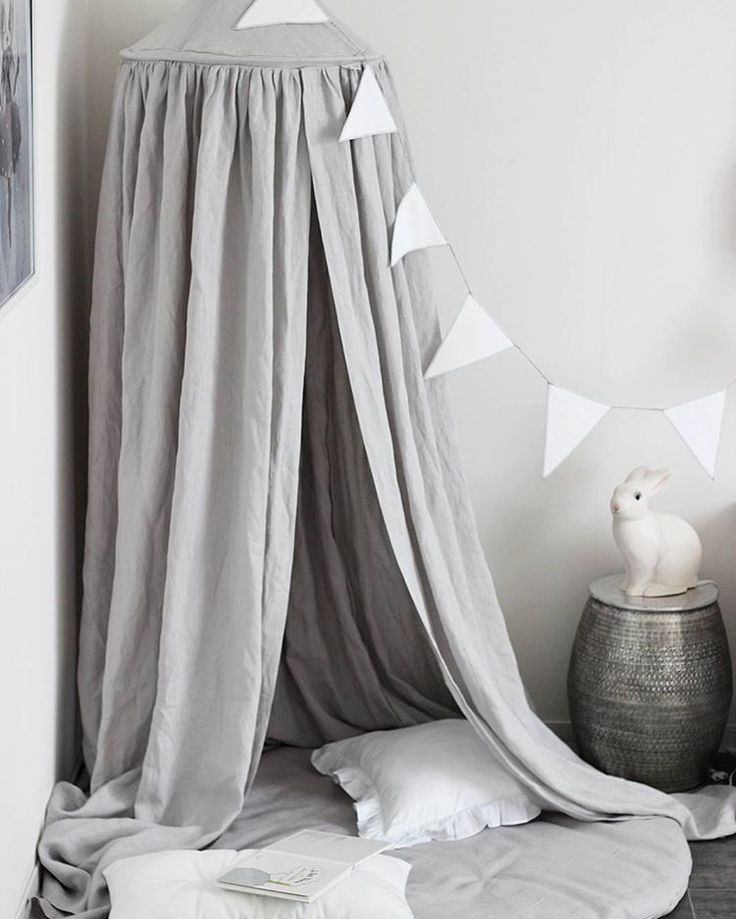 100 % Linen Canopy By Cotton U0026 Sweets