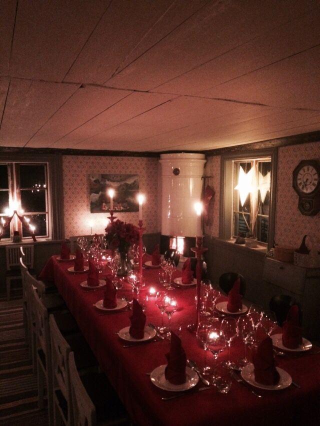 Christmas decking