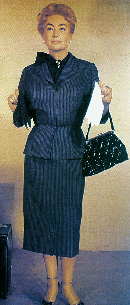"""A wardrobe test for the 1959 movie, """"The Best of Everything"""""""