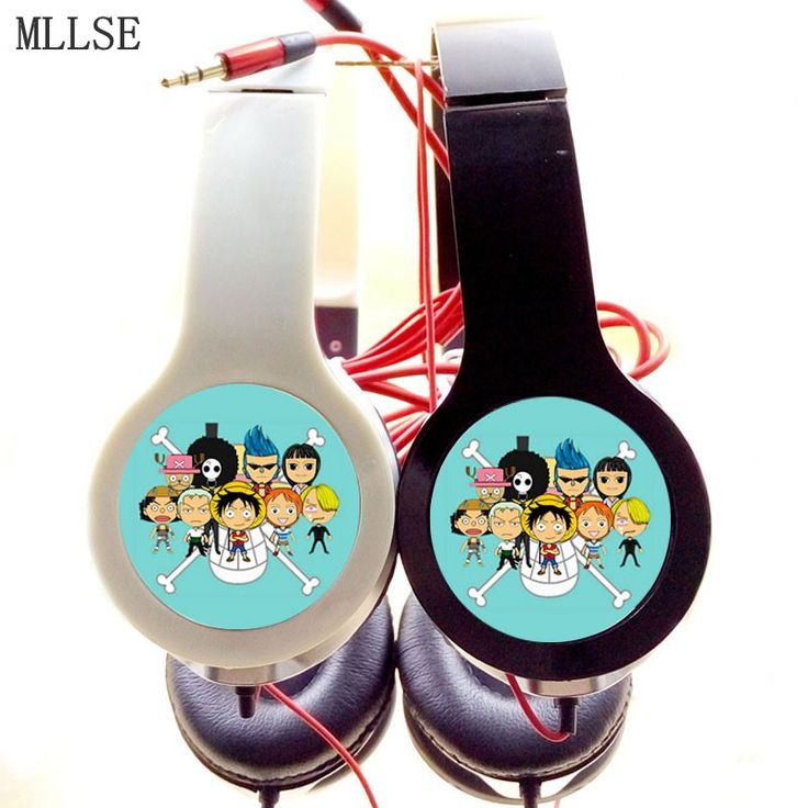 One Piece Luffy Pirates  Adjustable Stereo Headphones Game Earphone Phone Headset for MP3 PSP //Price: $24.00 & FREE Shipping //     #onepiecelover #onepieceatatime #dluffystore