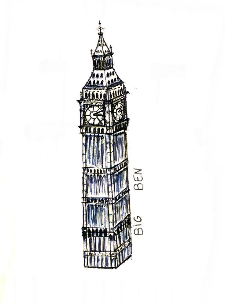 The Big Ben as Rani perceived it.