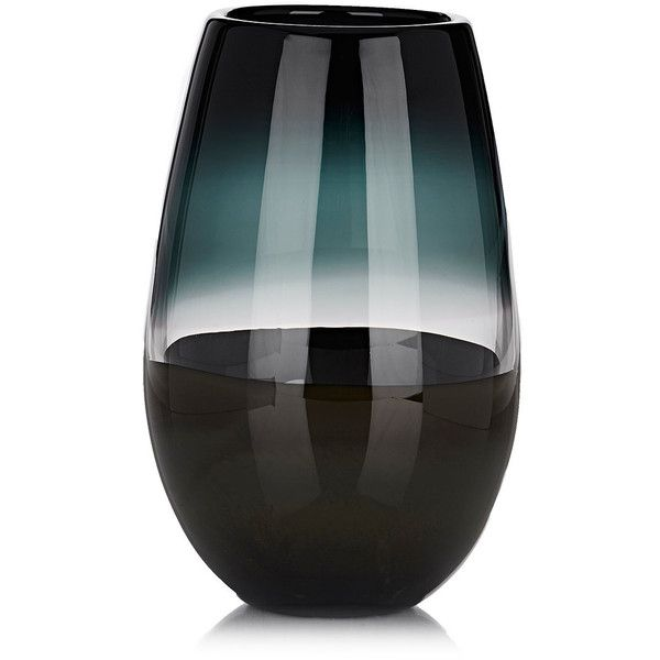Caleb Siemon Scuro Soft Cylinder Vase featuring polyvore home home decor vases multi hand-blown glass vases handmade home decor handmade vase cylinder vases