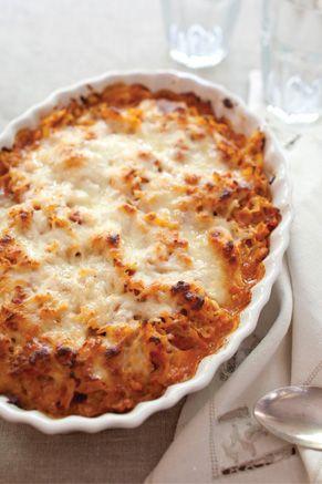 Italian Chicken and Pasta Bake