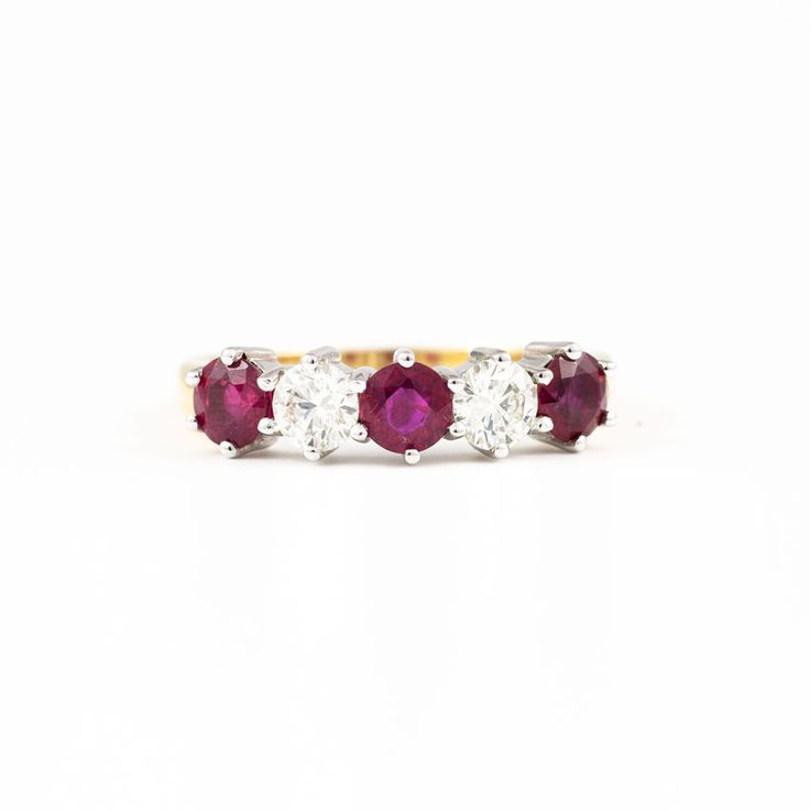 The Paul Sheeran Eternity ring collection | Ruby and Diamond Eternity ring