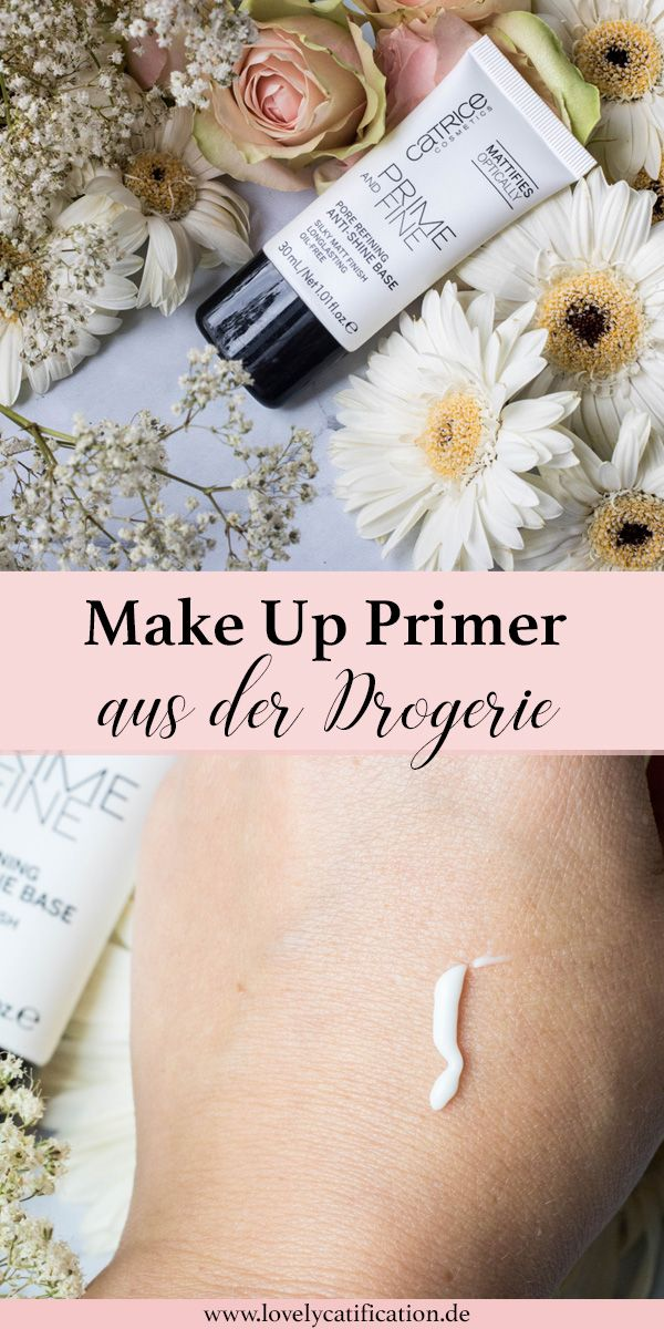 ♥♥♥ Entdecke jetzt zwei Make up Primer aus der Drogerie! Alles lesen auf Lovelycatification.de ♥♥♥ #makeup #primer