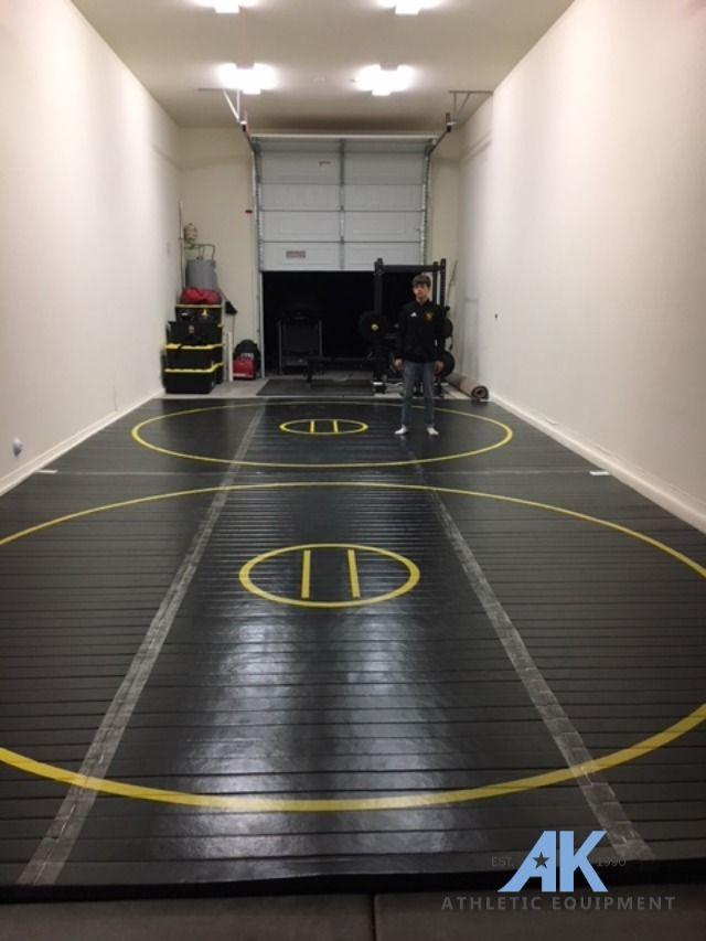12 X 12 X 1 3 8 Roll Up Wrestling Mat In 2020 Wrestling Mat Garage Gym Design Mma Mat