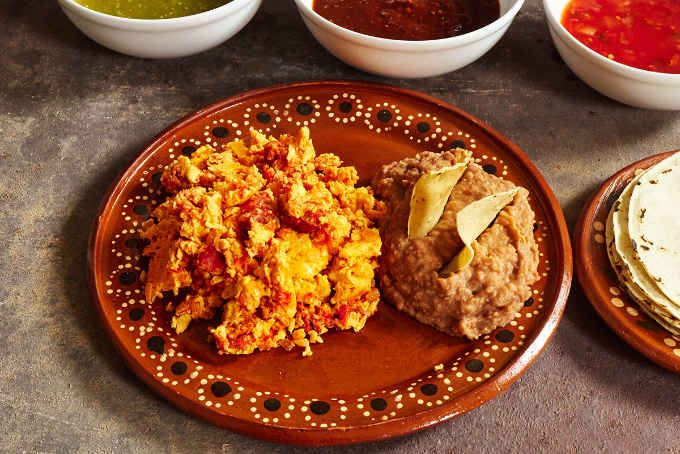 Our latest recipe, chorizo and eggs, a breakfast dish enjoyed throughout Mexico. Give it a try!