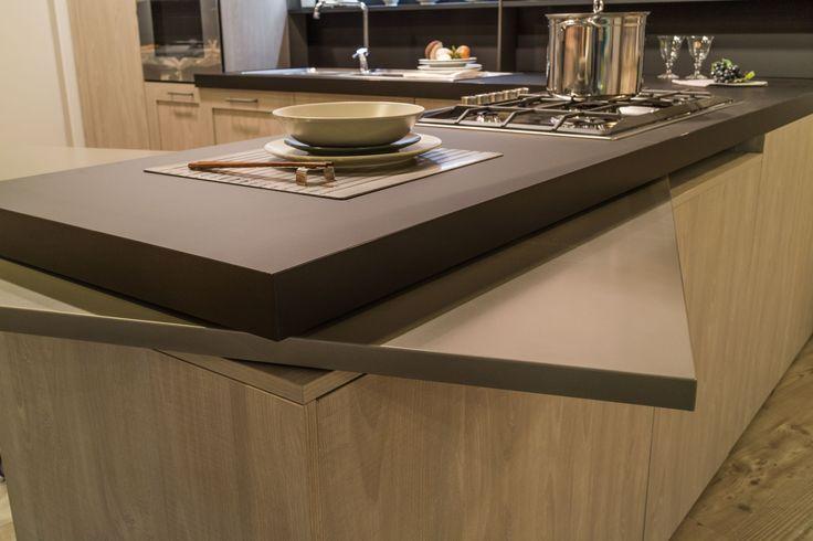 Oltre 25 fantastiche idee su piano cucina in legno su for Enorme isola cucina