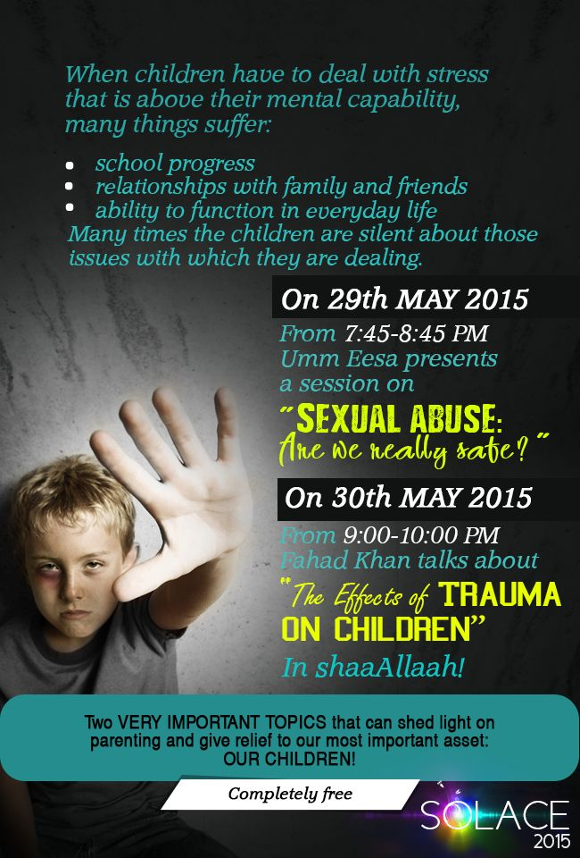 The Effects of trauma on children