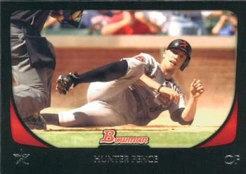 2011 Bowman #91 Hunter Pence Front