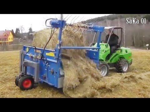 World Amazing Modern Agriculture Mega Machines Compilation [Bale Unrolle...