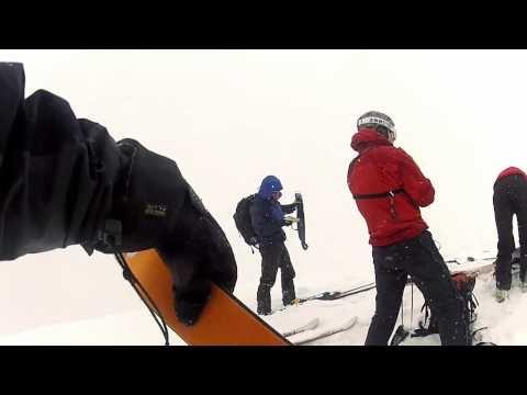 Offpiste skiing w/ GoPro HD Hero 2