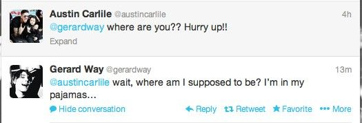 Austin Carlile - Gerard Way