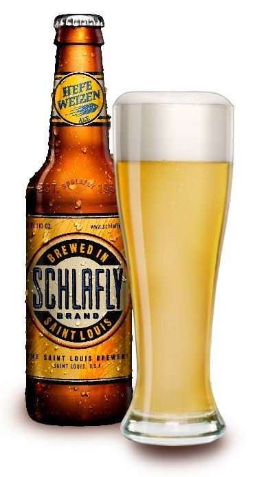 An awesome beer for Summer. Schlafly Hefeweizen. Light, golden, unfiltered, unabashed yumminess.