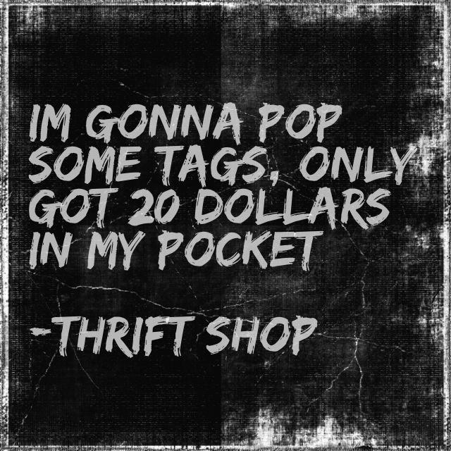 Best 25+ Thrift shop song ideas - 205.0KB