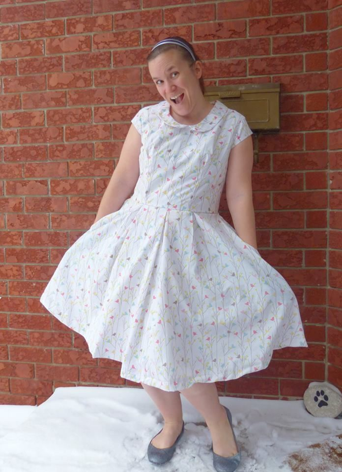 Do you need a bit of whimsy in your life?    The Bella Sunshine Designs PDF Patterns Alice Dress certainly hits that mark!    Bring in Spring and Easter with this beautifully designed and easy to follow tutorial  #bellasunshinedesigns #sewmywardrobe #sewingpatterns #springdress #easterdress #summerdress #aliceinwonderland #sewingpattern
