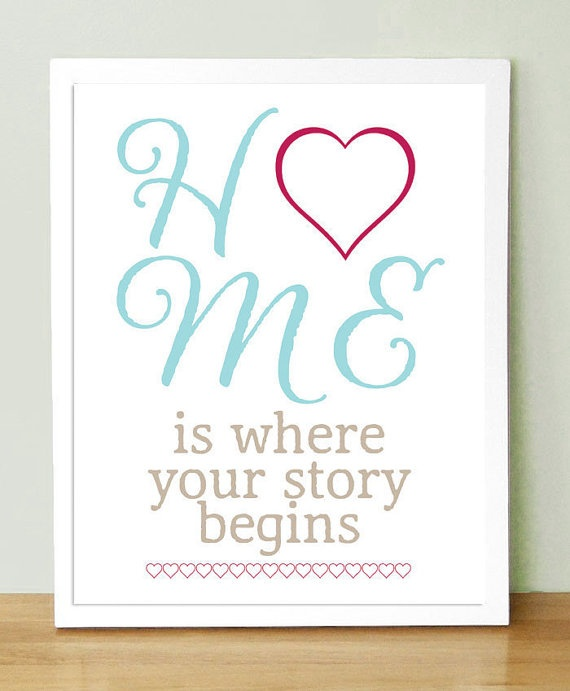 Home is where your story begins. | Quotes | Pinterest