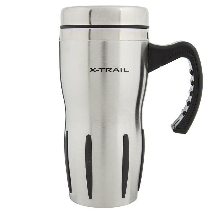 Nissan X-Trail XTrail Tea Coffee Hot Drink Thermo Mug Cup New Genuine XTRA005