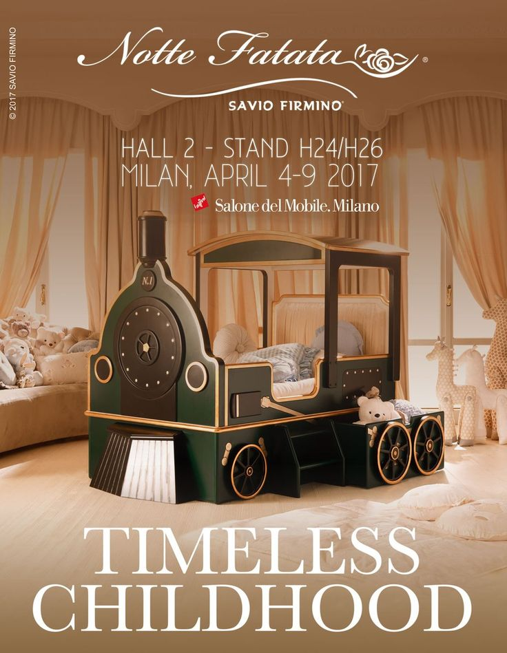A Timeless Childhood is waiting for you #SaloneDelMobile #Milano, with Notte Fatata by Savio Firmino, Hall 2, Stand H24/H26 @iSaloniofficial