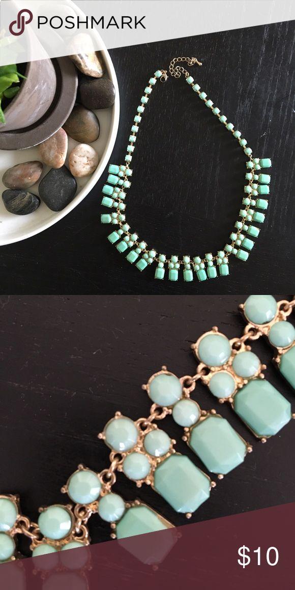 Necklace ❤️❤️❤️ HOST PICK❤️❤️❤️ Pretty mint! Jewelry Necklaces