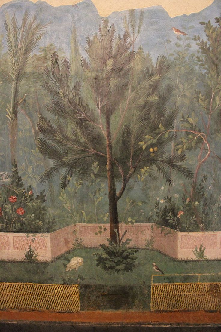 14 best images about roman painting on pinterest gardens - Pittura particolare ...