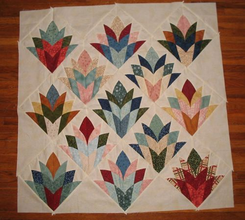 fan quilt pattern instructions
