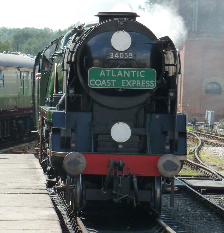 Book a Sunday lunch or an evening meal on the lovely Pullman at the Bluebell Railway - a meal to remember!  How about a murder mystery evening on the train?  www.bluebell-railway.com