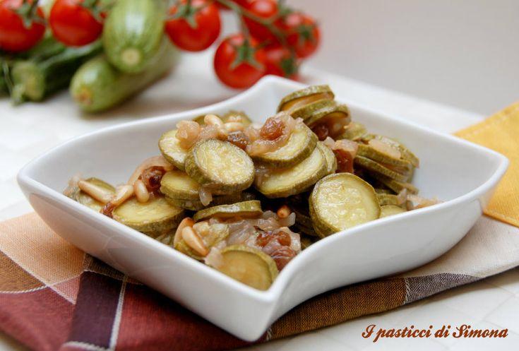 Zucchine agrodolce