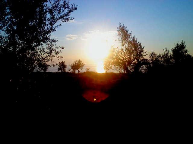 Sunset @Mesinia,Greece!  Unforgettable!
