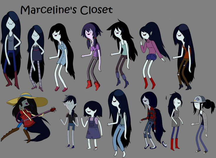 Marceline's Kleidung