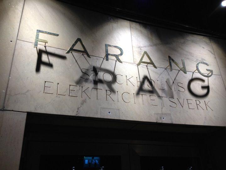 Farang à Stockholm, Storstockholm