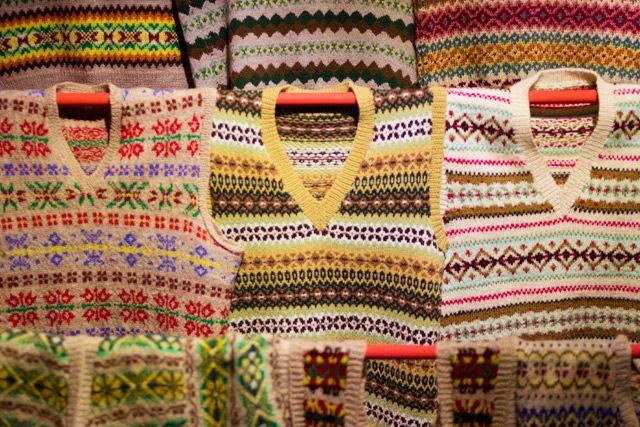 vintage fairisle jumpers