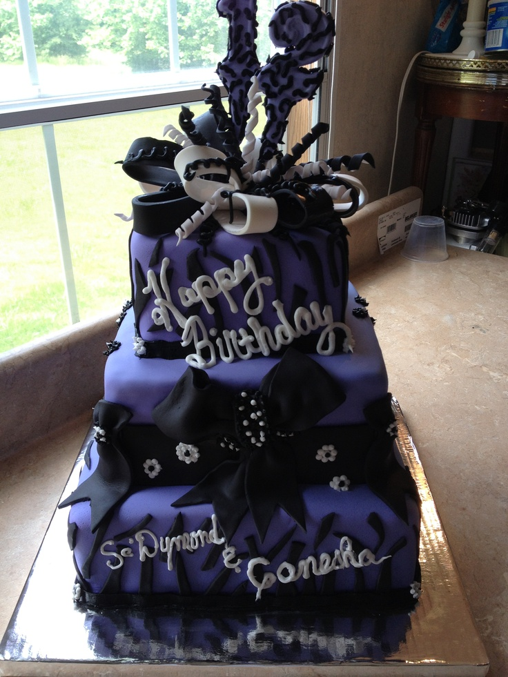12 year old Birthday cake