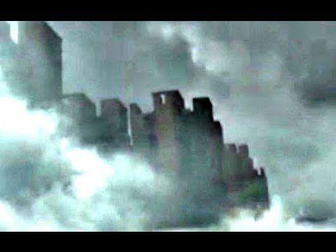 Video Penampakan Kota Hantu Misterius Diatas Awan Di Langit Jiangxi China