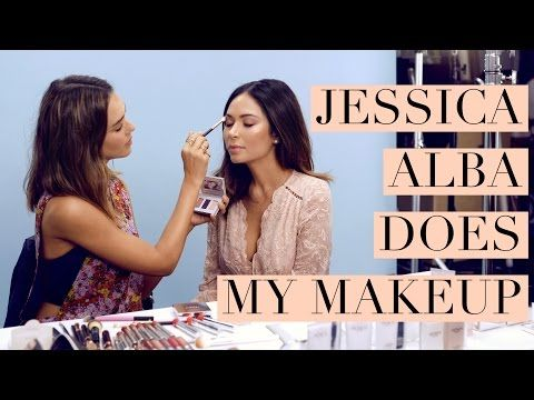 Jessica Alba Does My Makeup -  Best Makeup Tutorials    ~✿Ophelia Ryan✿~
