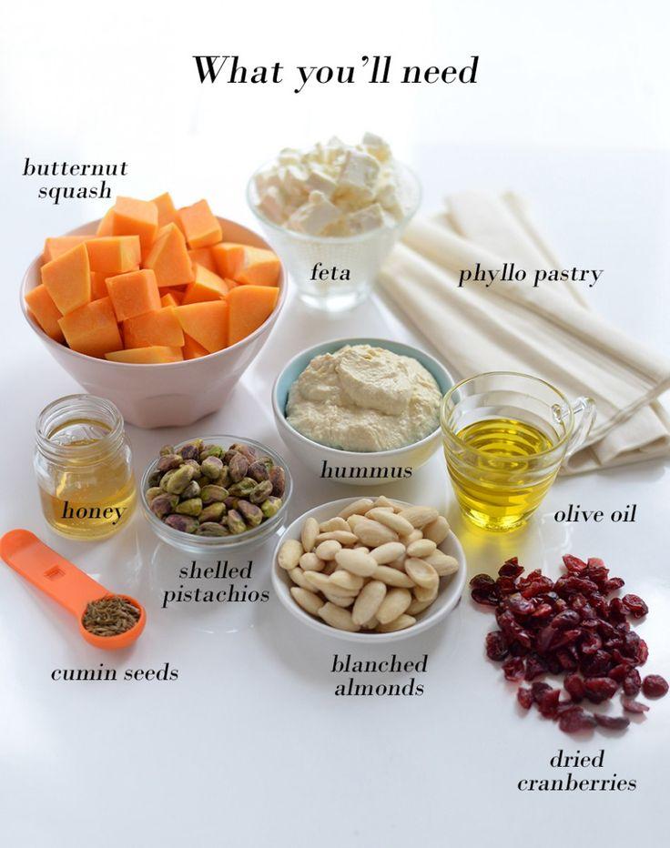 Vegetarian Christmas cracker ingredients